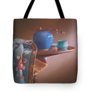 China Blues Tote Bag