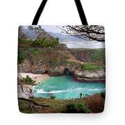 China Cove At Point Lobos Tote Bag