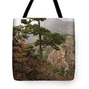 China, Mt. Huangshan Tote Bag