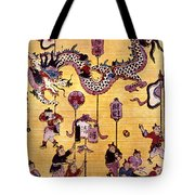 China: New Year Card Tote Bag
