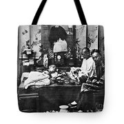 China: Opium Smokers Tote Bag