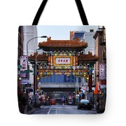 Chinatown - Philadelphia Tote Bag by Bill Cannon