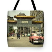 Chinatown Chevy  Tote Bag