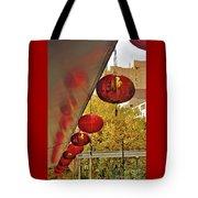 Chinatown - Chinese Lanterns Tote Bag