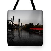 Chinatown Contrast Tote Bag