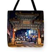 Chinatown In Philadelphia Tote Bag