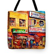 Chinatown Markets Tote Bag
