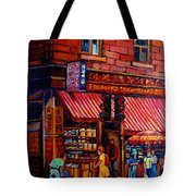 Chinatown Montreal Tote Bag