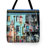 Chinatown Mural On Broadway Tote Bag