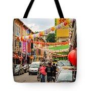 Chinatown Singapore Tote Bag