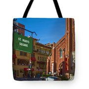 Chinatown View From St. Mary's Square Tote Bag