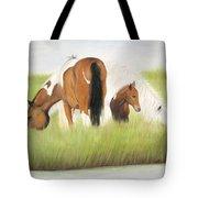 Chincoteague Ponies Tote Bag