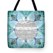Chinease Ketubah- Reformed And Interfaithversion Tote Bag