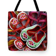 Chinese Baby Shoes Tote Bag