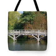 Chinese Bridge Over The River Tote Bag