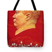 Chinese Communist Poster Tote Bag