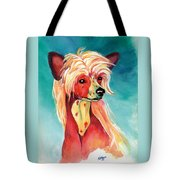 Chinese Crested Sunset Tote Bag