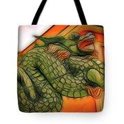 Chinese Dragon Art Tote Bag