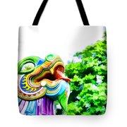 Chinese Dragon Ride Tote Bag