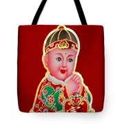 Chinese Figure Of Culture Tote Bag