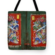 Chinese Guardians Tote Bag