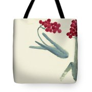 Chinese Hawthorn Tote Bag