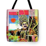 Chinese Historical Warrior Tote Bag