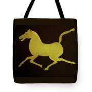 Chinese Horse Tote Bag