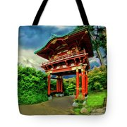 Chinese House Tote Bag