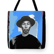 Chinese Immigrant Tucson Arizona Circa 1910 Color Added 2016 Tote Bag