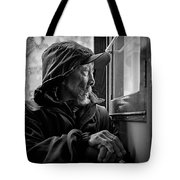 Chinese Man Tote Bag