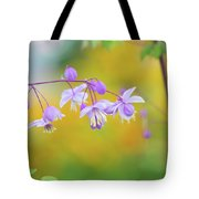 Chinese Meadow Rue Tote Bag