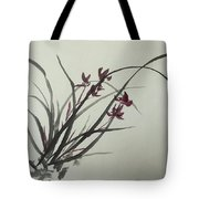 Chinese Orchid Tote Bag