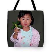 Chinese Orphan Girl Tote Bag