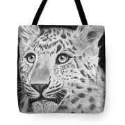 Chinese Panther Tote Bag