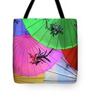 Chinese Parasols Tote Bag