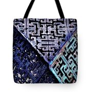 Chinese Pattern Tote Bag