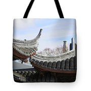 Chinese Rooflines Tote Bag