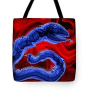 Chinese Serpent Rising Tote Bag