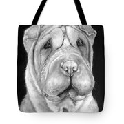 Chinese Sharpei Tote Bag
