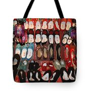 Chinese Slippers Tote Bag