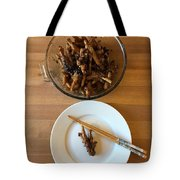 Chinese Spicy Chicken Feet Tote Bag