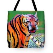 Chinese Tiger 2 Tote Bag