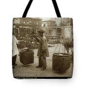 Chinese Vegtable Pedler In San Francisco Circa 1880 Tote Bag