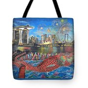 Chingay Parade Tote Bag