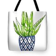 Chinoiserie Cactus No2 Tote Bag