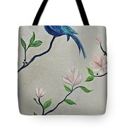 Chinoiserie - Magnolias And Birds #4 Tote Bag