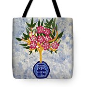 Chinoiserie Planter Tote Bag