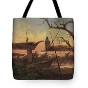 Chinook Burial Grounds Tote Bag
