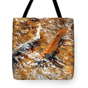 Chinook In Cottage Lake Creek Tote Bag